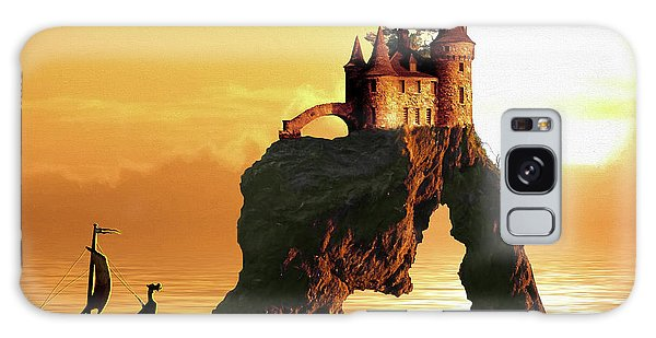 Sea Stack Castle Galaxy Case