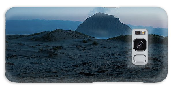 Sea Stacks Galaxy Case - Sea Stack Morro Bay California by Steve Gadomski