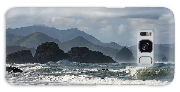 Sea Stacks And Surf Galaxy Case