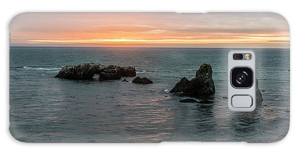 Sea Stacks Galaxy Case - Sea Stacks In Sea Ranch by Jon Glaser