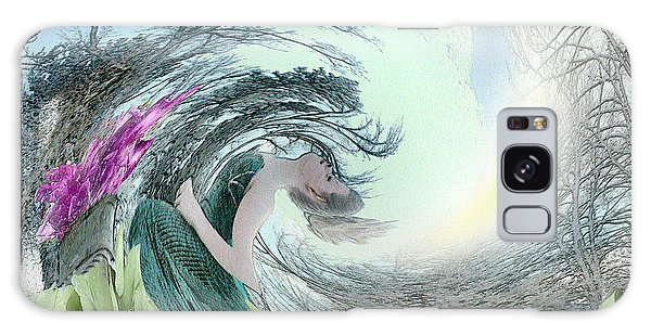 Galaxy Case - Sea Storm by Rose Guay