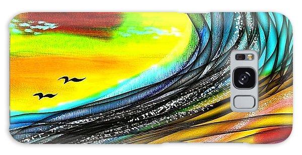 Sea Galaxy Case by The Art of Alice Terrill