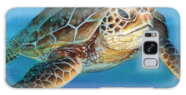 Sea Turtle 1 Of 3 Galaxy Case