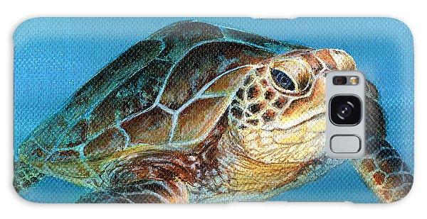 Sea Turtle 1 Of 3 Galaxy Case