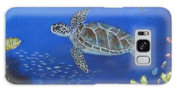 Sea Turtle 2 Galaxy Case