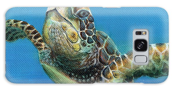 Sea Turtle 3 Of 3 Galaxy Case