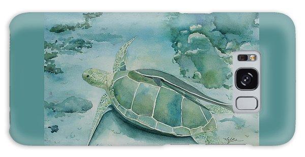 Sea Turtle And Friend Galaxy Case