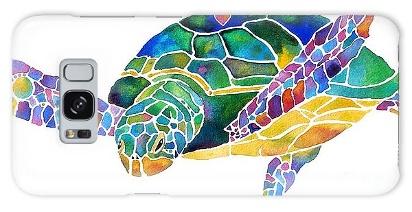Sea Turtle Celebration 4 Prints Only Galaxy Case