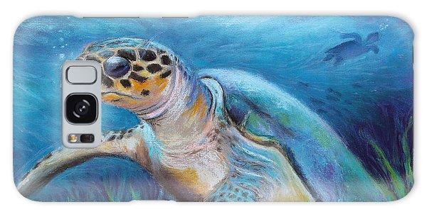 Sea Turtle Cove Galaxy Case