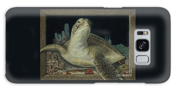 Sea Turtle Galaxy Case by Jennifer Watson