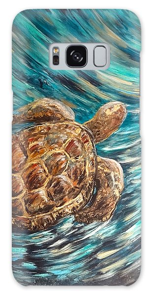 Sea Turtle Wave Guam Galaxy Case