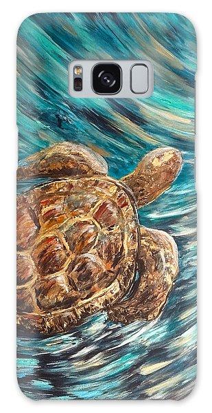 Sea Turtle Wave Guam Galaxy Case