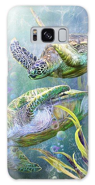 Traveler Galaxy Case - Sea Turtles - Ancient Travelers by Carol Cavalaris