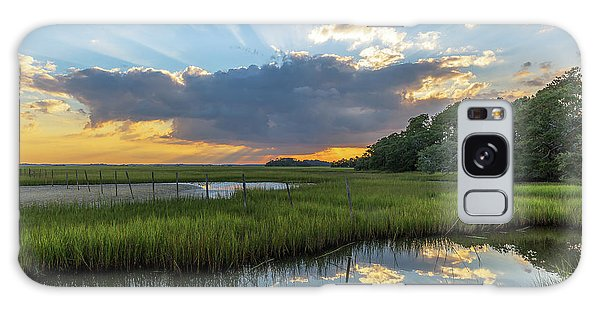 Seabrook Island Sunrays Galaxy Case