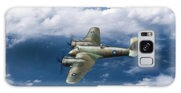 Galaxy Case featuring the photograph Seac Beaufighter by Gary Eason