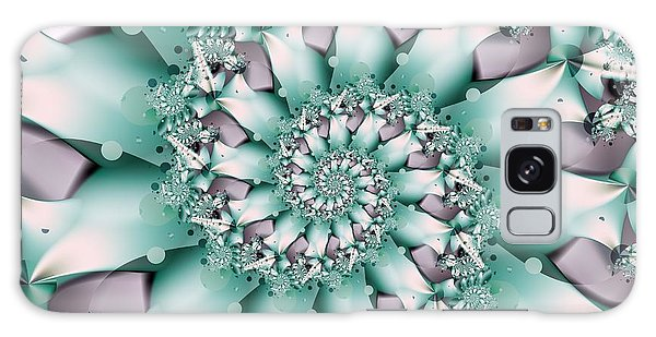 Seafoam Spring Galaxy Case by Michelle H
