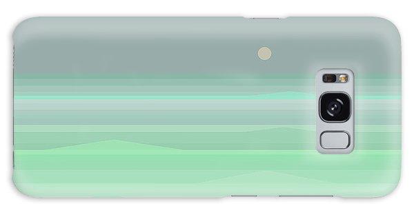 Seafoam Galaxy Case