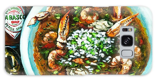 Food Galaxy Case - Seafood Gumbo by Dianne Parks