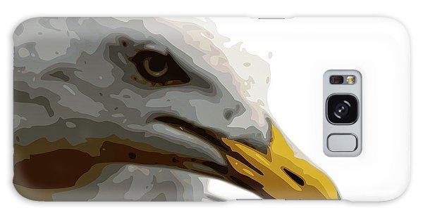 Seagull Closeup Galaxy Case