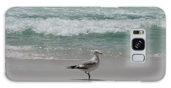 Seagull Galaxy Case by Megan Cohen