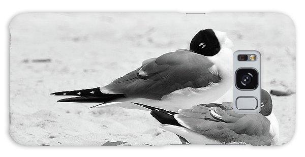 Seagull Nap Time Galaxy Case