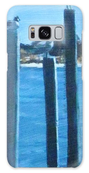 Seagull On A Stick Galaxy Case