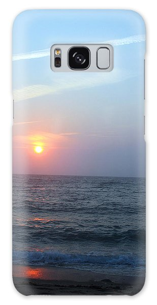 Seagull Sunset Galaxy Case by Todd Breitling
