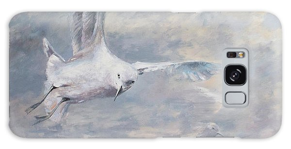 Seagull Galaxy Case by Vali Irina Ciobanu