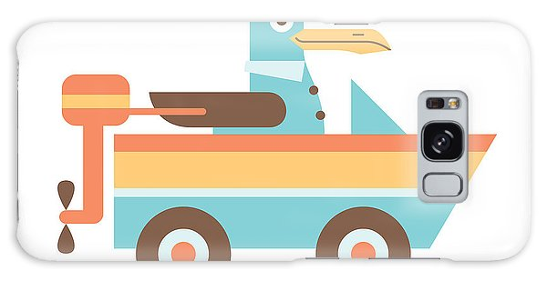 Seagulls Galaxy Case - Seagull Sailor by Mitch Frey