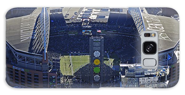 Seahawk Stadium Galaxy Case