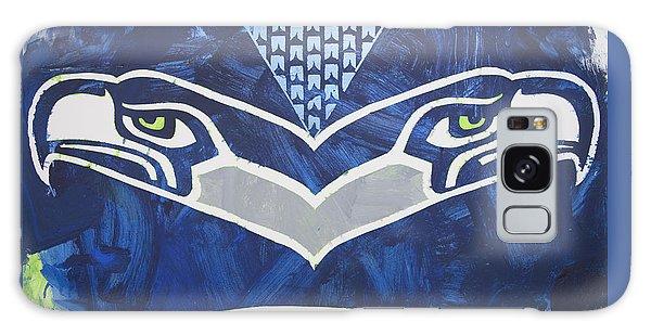 Seahawks Helmet Galaxy Case