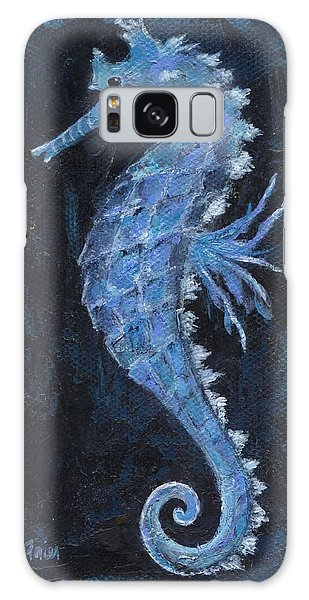 Galaxy Case featuring the painting Seahorse by Jamie Frier