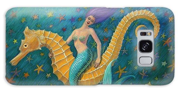 Seahorse Mermaid Galaxy Case