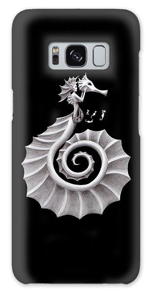 Seahorse Siren Galaxy Case by Sarah Krafft