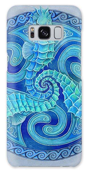 Seahorse Triskele Galaxy Case