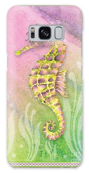 Seahorse Violet Galaxy Case