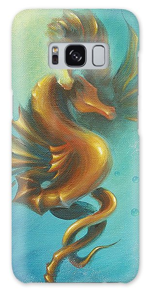 Seahorses In Love II  Galaxy Case by Dina Dargo
