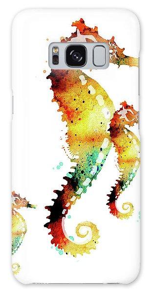 Seahorses Galaxy Case