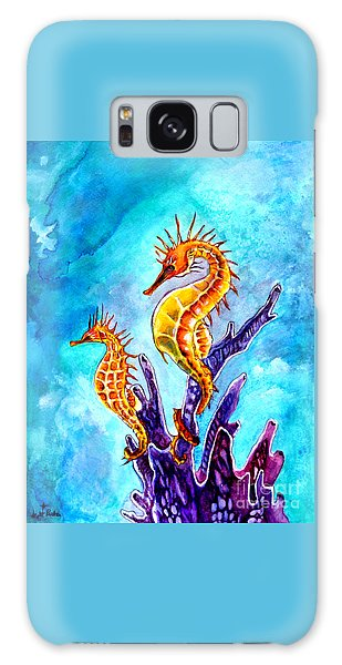Seahorses Galaxy Case