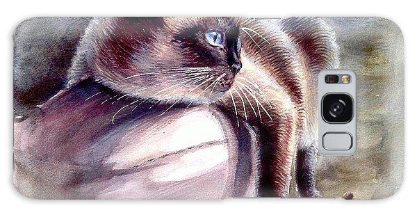 Siamese Cat 2 Galaxy Case