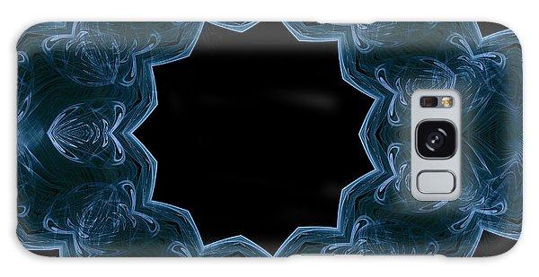 Seamless Kaleidoscope Blue Galaxy Case