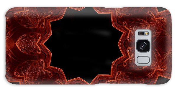 Seamless Kaleidoscope Copper Saturated Galaxy Case