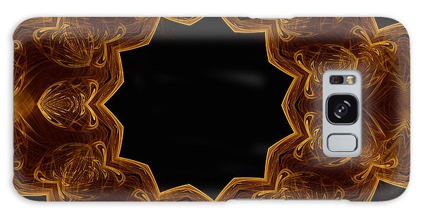Seamless Kaleidoscope Gold Galaxy Case