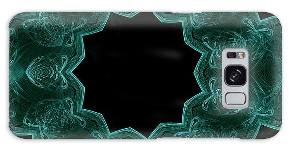 Seamless Kaleidoscope Green Galaxy Case