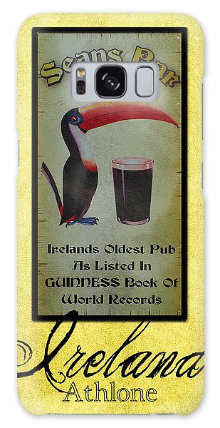 Seans Bar Guinness Pub Sign Athlone Ireland Galaxy Case
