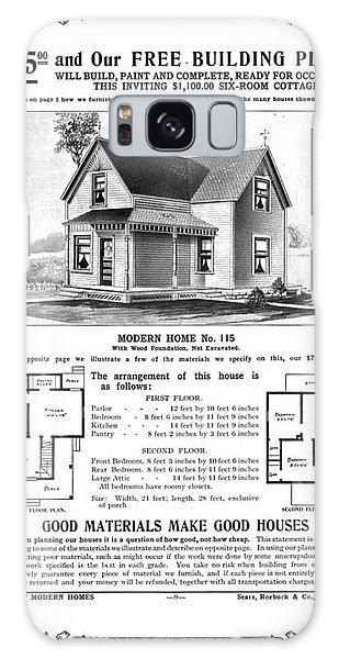 Cottage Galaxy Case - Sears 1910 Home Plan by Zal Latzkovich