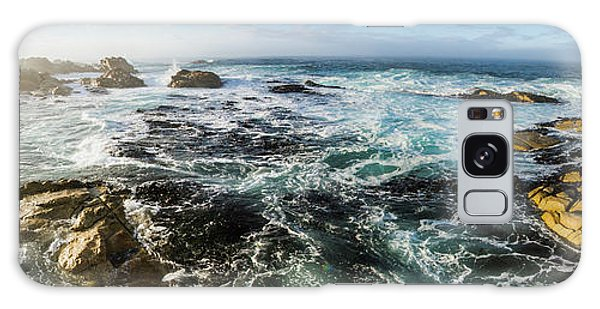 Tides Galaxy Case - Seas Of The Wild West Coast Of Tasmania by Jorgo Photography - Wall Art Gallery