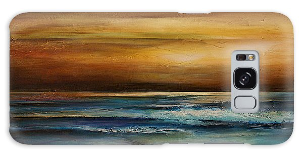 Ocean Sunset Galaxy S8 Case - Seascape 1 by Michael Lang