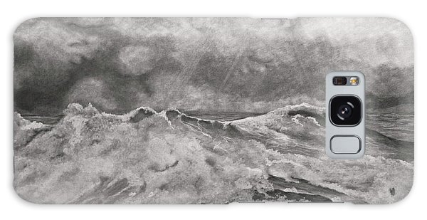 Seascape In Graphite Galaxy Case