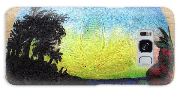 Seascape On A Sand Dollar Galaxy Case